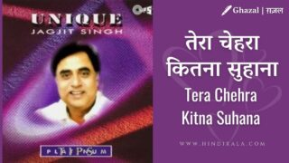 Jagjit Singh – Tera Chehra Kitna Suhana – तेरा चेहरा कितना सुहाना  [Unique (1996)]
