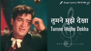 Teesri Mazil (1966) – Tumne Mujhe Dekha | तुमने मुझे देखा | Mohammad Rafi