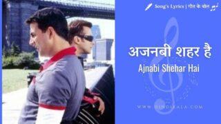 Jaan-E-Mann (2006) – Ajnabi Shehar Hai | अजनबी शहर है | Sonu Nigam
