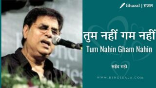 Jagjit Singh – Tum Nahin Gham Nahin | तुम नहीं गम नहीं | Album – A Journey (2000)