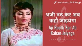 Aarzoo (1965) – Aji Rooth Kar Ab Kahan Jaiyega | अजी रूठ कर अब कहाँ जाइयेगा | Lata Mangeshkar