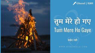 Vishal Goswami – Tum Mere Ho Gaye   Album – Surahi